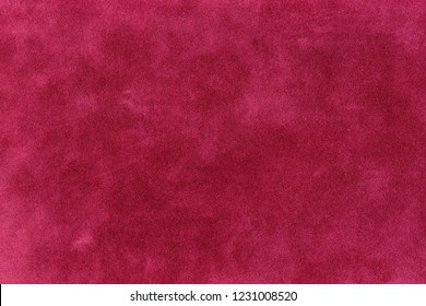 Red Suede Texture Background