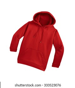 red sweater isolated