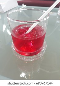 red sweet drinking for health life