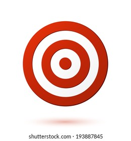 Red target icon