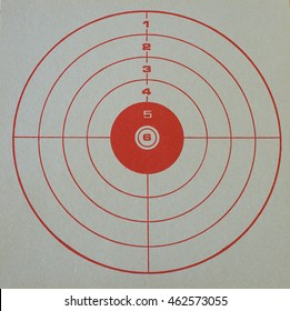 RED TARGET for shooting