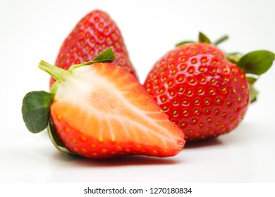 Red Tasty Strawberries