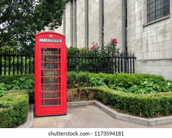 The red telephone box or telephone kiosk for a public telephone designed by Sir Giles Gilbert Scott, is a familiar sight on the streets of London.  This model was first brought into service as the Kio