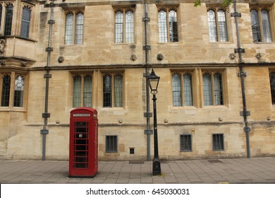 Red Telephone Box, Oxford