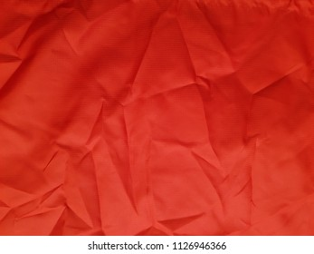 Red textile texture background/ Red textile texture background