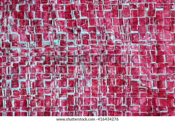 Red Texture Background Red Nylon Bag Stock Photo (Edit Now) 416434276