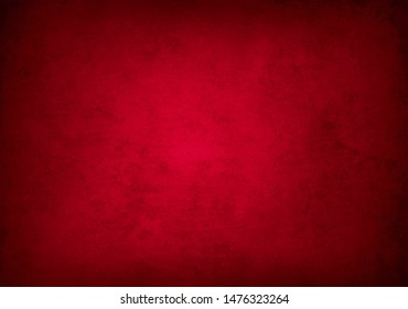Red textured concrete wall background
