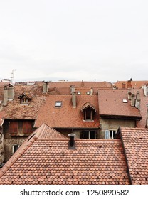 Red tile rooftops