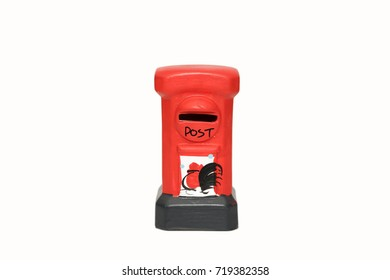 Red Toy Postbox