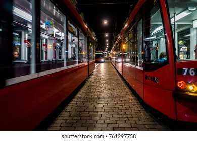 Red Trams of Bern