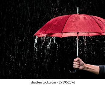 Red Umbrella Images Stock Photos Vectors Shutterstock