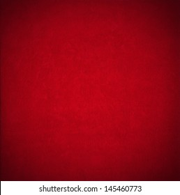 Red Velvet Background / Closeup detail of aged red velvet texture background