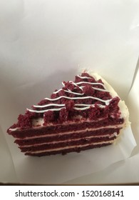 Red Velvet Cake from McCafe collaboration with Secret Recipe