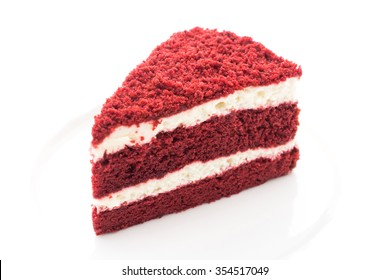 Red velvet cakes