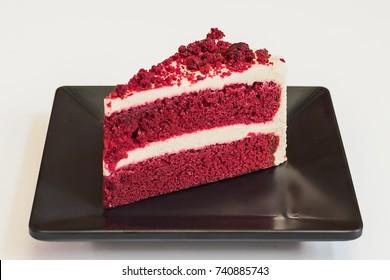 Red Velvet  layer cheese cake.
