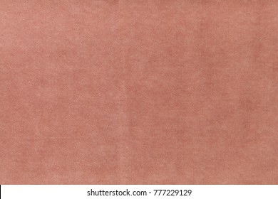 Red velvet overcoat cloth texture closeup