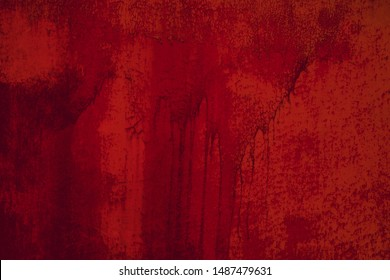 Red vintage wall texture.Urban grunge background. Punk grunge texture. Colorful background