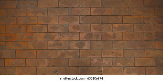 Red wall brick texture wallpaper