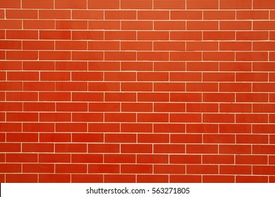 Red wall ceramic tile