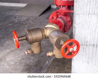 Bekämpfungsjammer für das rote Wasserrohr und das Feuerventil