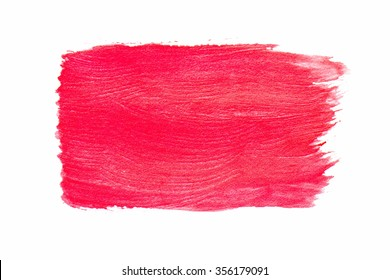 red watercolor
