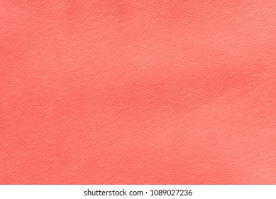 red watercolor color painted on paper background texture