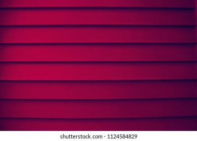 Red Weatherboarding Textured Wall