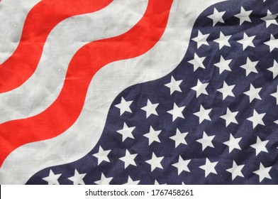 Red white and blue patriotic background.