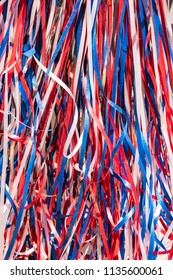 Red, White and Blue Patriotic July 4th Streamers