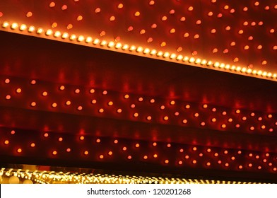 red and white bulbs marquee 2
