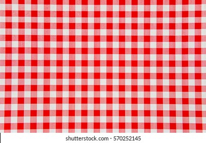 red and white checkered background