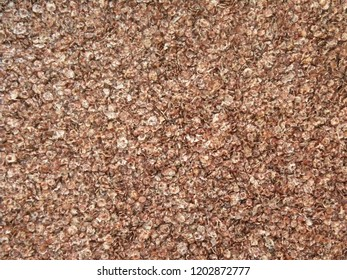 Red and white color dry finger millet flakes