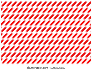 red and white diagonal lines with displacement and gradient