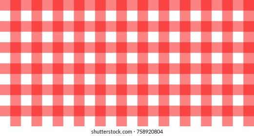 Red and White Picnic Fabric