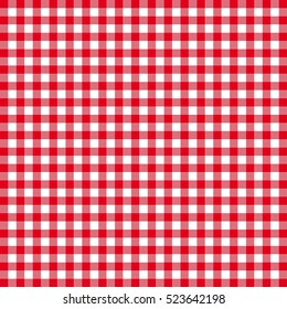 Red and white square pattern