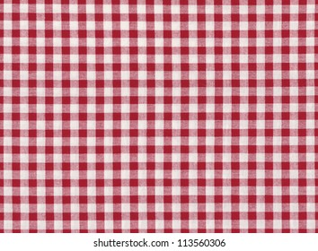 Red and white striped seamless tablecloth background