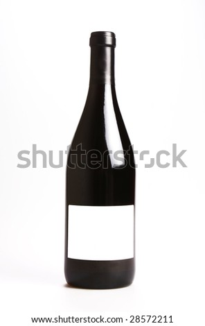 Red Wine Bottle Put Your Text Stock Photo Edit Now 28572211