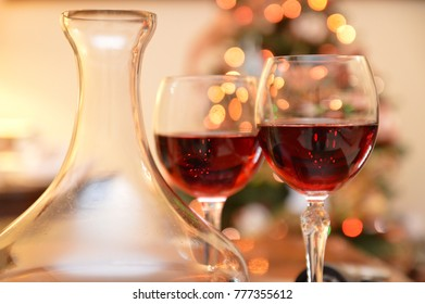 red wine glass bottle drink party