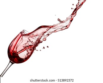 Red wine up, close up