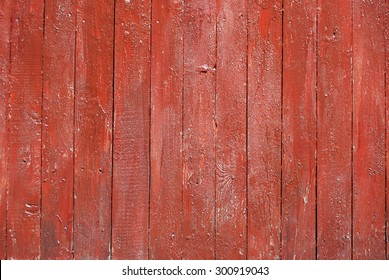Red wood planks for fence or floor.