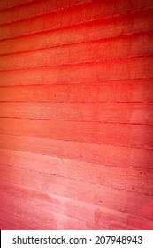 Red Wood Siding Background