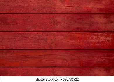 red wooden background or wood grain texture