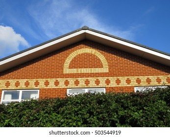 red and yellow brick building