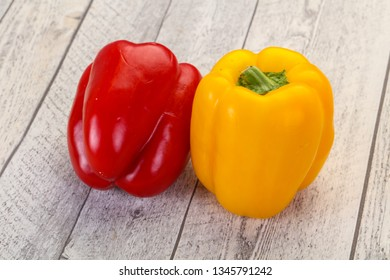 Red and Yellow Bulgarian Bell pepper