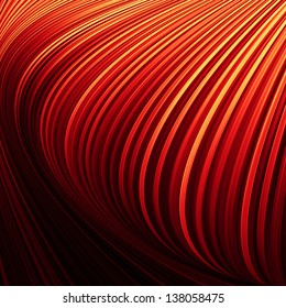 Red and yellow lines texture background