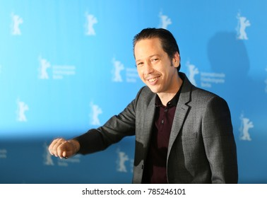 Reda Kateb attends the 'Django' photo call during the 67th Berlinale  Film Festival Berlin at Grand Hyatt Hotel on February 9, 2017 in Berlin, Germany.