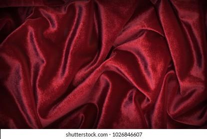 red-burgundy velvet texture