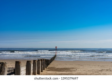 Redcar beach. North east of England. North Yorkshire.