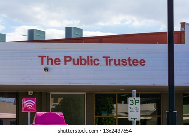 Redcliffe, Queensland, Australia, April 1st 2019, Public Trustee Building
