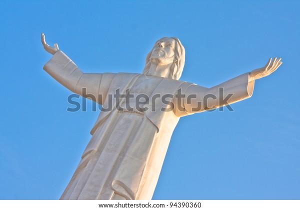 redeemer christ, sited in chorrillos, Lima, Peru.